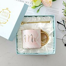 Kreative Marmorierung Keramik-Tasse, Kaffeetasse