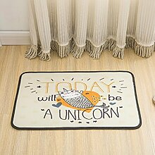 Kreative Matten Anti - Rutsch - Teppiche Kinder Teppich für Schlafzimmer , 2 , 40x60cm