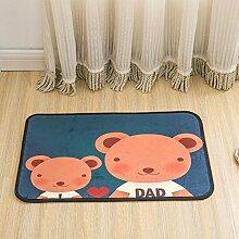 Kreative Matten Anti - Rutsch - Teppiche Kinder Teppich für Schlafzimmer, 3, 40x60cm