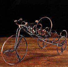 Kreative Metall Weinregal hängende Art eignet