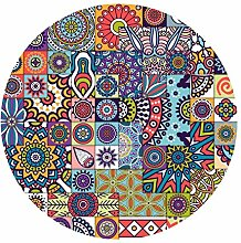 Kreative Mode Runde Teppich Teppich für