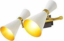 Kreative Moderne Wandleuchte Leuchten 2-flammig Up