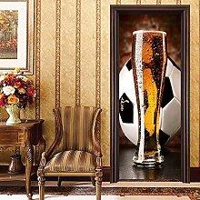 Kreative Neue Fußball Tür Aufkleber Fußball