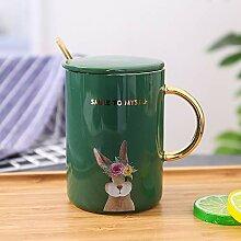 Kreative Paar Becher, Büro Keramik Kaffeetassen,