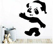 Kreative Panda Wandkunst Aufkleber Wandkunst
