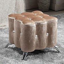 Kreative Platzaufnahme Sofa Hocker European - style Tuchschuhe für Schuhhocker Bekleidungsgeschäft Sofa Hocker (Farbe wahlweise freigestellt) ( farbe : #3 )