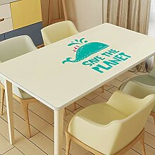 Kreative PVC-Tischdecke mit modernem