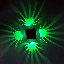 Kreative quadratische Wandlampe, LED-Lichtquelle