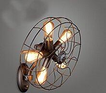 Kreative Retro-Ventilator Wandleuchten (ohne Licht)