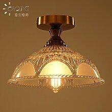 kreative rundschreiben gläserne decke lampe 300 * 210mm