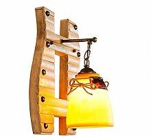 kreative rustikalen wall lamp, vintage - nostalgie