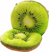 Kreative Simulation von Kiwi Obst Stuhl Kissen Lustige Kissen