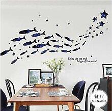 Kreative Sternenklare Kleine Fische Stern