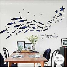Kreative Sternenklare Kleine Fische Sterne