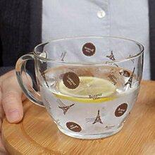 Kreative Tasse Eiffelturm Glas Tee Tasse Glas