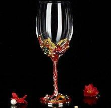 Kreative Tasse Kristall Champagner Glas Rotwein