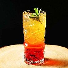 Kreative Tasse Transparent Tiki Cup Glas Bigeye