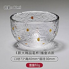 Kreative Tasse Weinschale Kaffeetassegold Glas