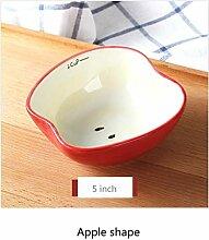 Kreative Teller Keramik Kaninchen Suppe Schüssel