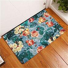 Kreative Teppiche Waschbar Schöne Blume Teppich