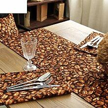 Kreative Tischl?ufer/Schlanke, minimalistische moderne Tischl?ufer/TV-Schrank drapieren/Leinwand-Tischl?ufer-A 35x220cm(14x87inch)