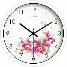 Kreative Uhr/Pastorale Europäischen Stille Wanduhr/Schlafzimmer Dekor Wanduhr-A 12Zoll