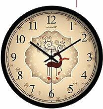 Kreative Uhr Tisch/Kunst Wohnkultur/Wohnzimmer Schlafzimmer Ultra Silent Wall Clock-C 10Zoll