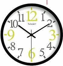 Kreative Uhr Zu Hause Mode/Einfache Frische Wanduhr-C 14Zoll