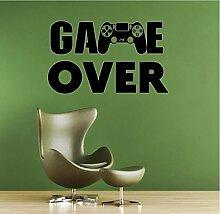 Kreative wand Gamer PS4 wandtattoo Eat Sleep Game