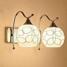 Kreative wand Lampe am Bett Schlafzimmer Warme minimalistische Wohnzimmer lampe Korridor Treppe, Wand Lampe, 35 x 23 cm