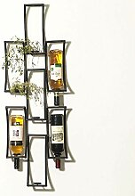 Kreative Wand Weinregal Persönlichkeit