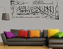 Kreative Wandaufkleber Arabische Kalligraphie