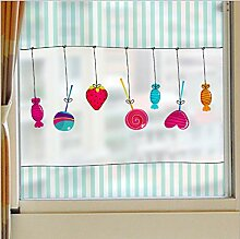 Kreative wandaufkleber liebe lollipop balkon