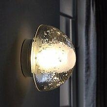 Kreative Wandleuchte im Europäischen Stil Bett Balkon LED Flur Gang Magic Crystal Ball Wandleuchte Ø 10 cm
