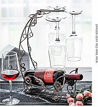 Kreative Weinglaszahnstange hängend Upside Down