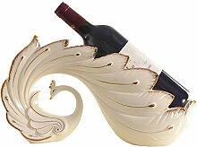Kreative Weinregal, aus Kunstharz, für