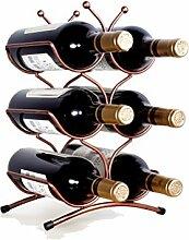 Kreative Weinregal Dekoration Moderne Wein 6