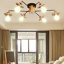 Kreative Wohnzimmer Leuchten Nordic Einfache Massivholz Deckenleuchten Anmelden Leuchten Schlafzimmer Leuchten