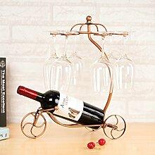 Kreativer Einfachheit Wein Rack/ Glas-Ornamente/Hanging Stielgläser Rack Zubehör-B