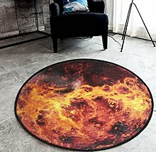 Kreativer Mond / Erde / Mars Rundschreiben Teppich Wohnzimmer Schlafzimmer Matten , 1 , 180x180cm