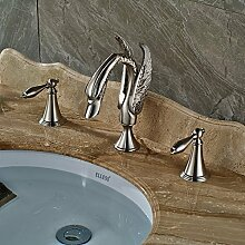Kreatives Design Dual Griff Waschbecken Wasserhahn