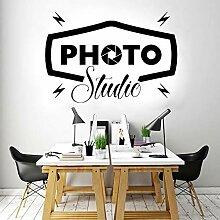 Kreatives Design Fotostudio Wandaufkleber Büro