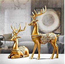 Kreatives Handwerk, American Deer Ornamente,