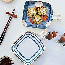 Kreatives Keramikgeschirr-Set mit Griffen,