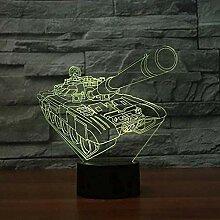 Kreatives Stimmungslicht 3D Nachtlicht 3D Touch