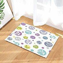 Kreativität Bad Teppiche von cdhbh Pflanzen und