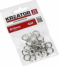 Kreator KRT616108 Rundösen Aluminium ø10mm