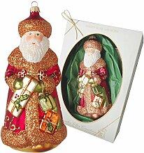 Krebs Glas Lauscha - Traditioneller Weihnachtsmann