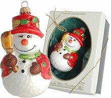Krebs Glas Lauscha - Weihnachtsbaumschmuck -