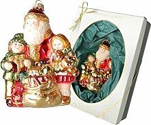 Krebs Glas Lauscha Weihnachtsbaumschmuck